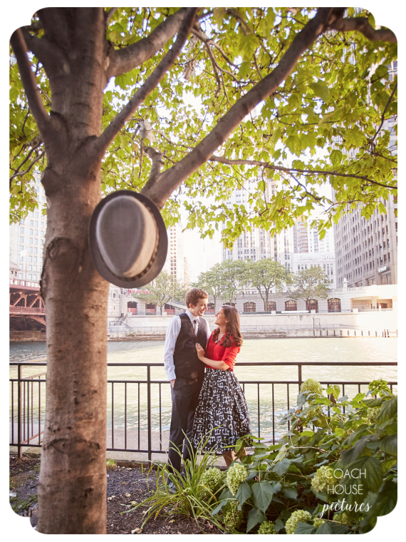 Coach House Pictures, Chicago Wedding Photographer, midwest wedding photographer, Chicago wedding, fine art wedding photographer, modern wedding photographer, Chicago Riverwalk, Chicago Engagement