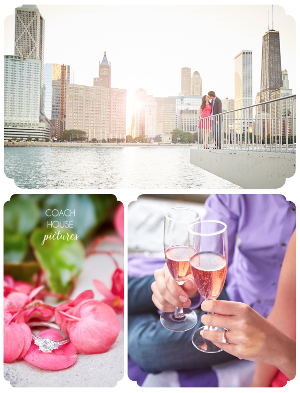 Coach House Pictures, Chicago Wedding Photographer, midwest wedding photographer, Chicago wedding, fine art wedding photographer, modern wedding photographer, Chicago Riverwalk, Chicago Engagement, Lake Michigan, Chicago skyline, Milton Olive Park