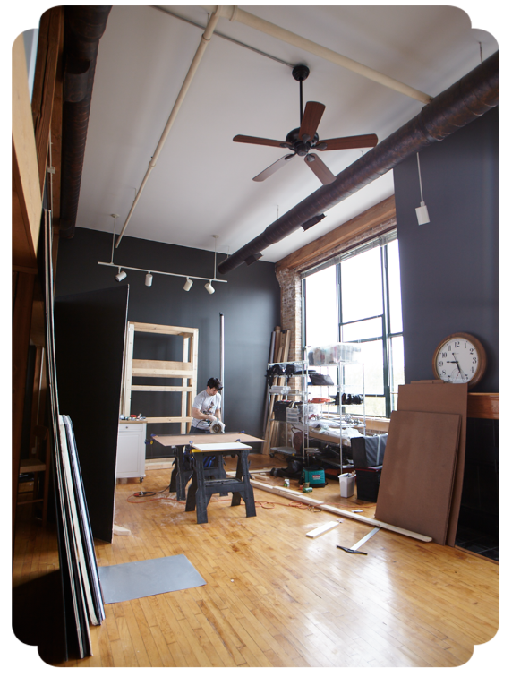 Coach House Pictures, home life, studio, Logan Square