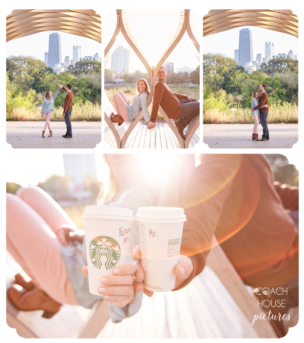 Chicago Engagement Session- Lincoln Park- Coach House Pictures- Chicago Wedding photographer