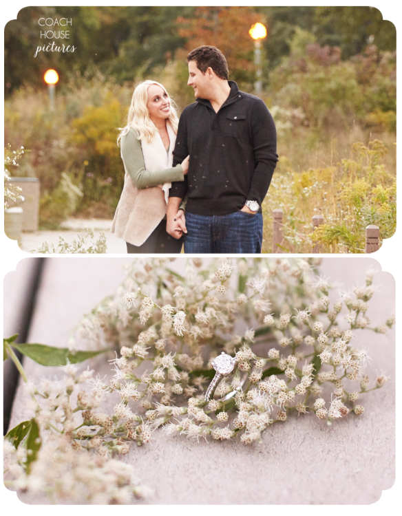 Chicago Engagement Photography,Coach House Pictures,Engagement ring