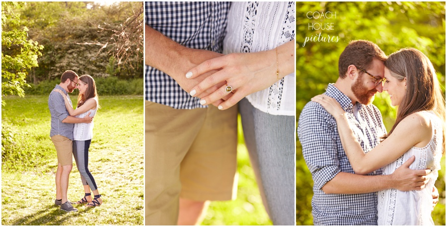 Chicago Wedding Photographer, Belmont Harbor, Summer Engagement