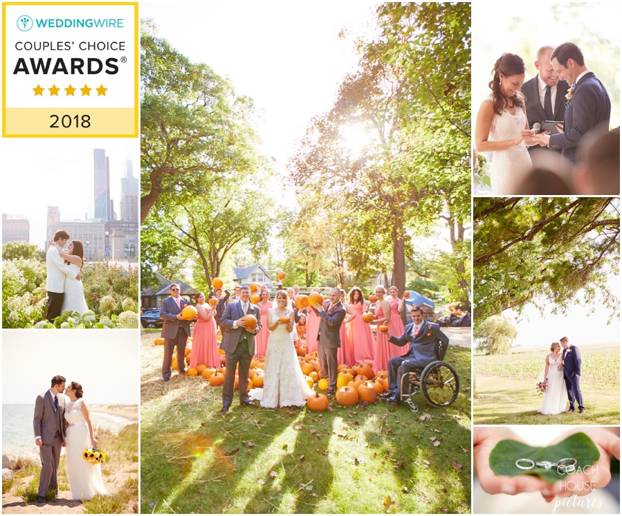 Wedding Wire Couples Choice Award- Chicago Wedding Photographer